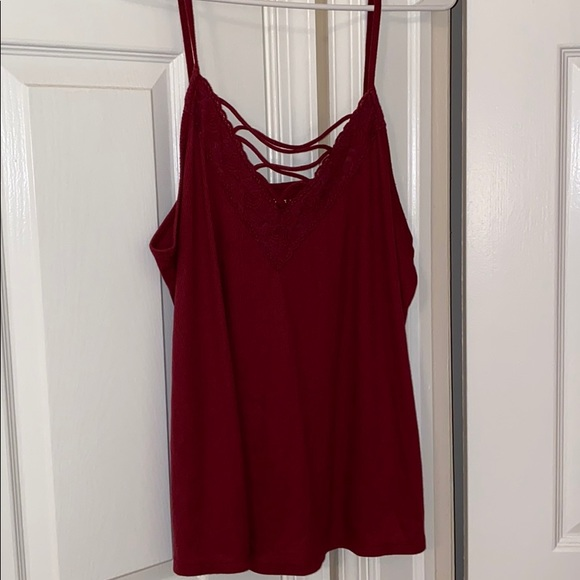 Aeropostale Tops - Burgundy tank top.